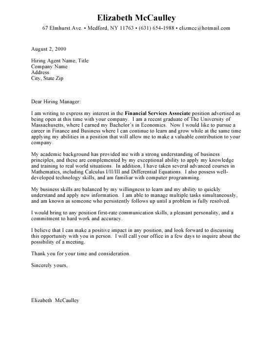 Entry Level Marketing Cover Letter Sample Entry Level Marketing - entry level marketing cover letter