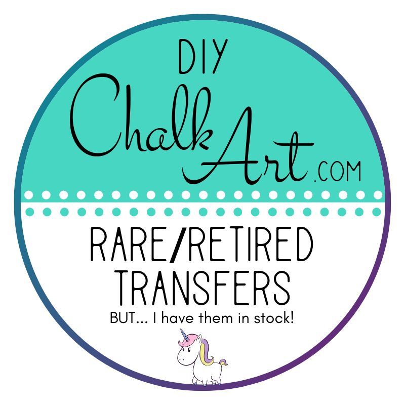 """Transfers RETIRED Chalk Couture:  """"Build A Bunny Size C 2-12x18"""