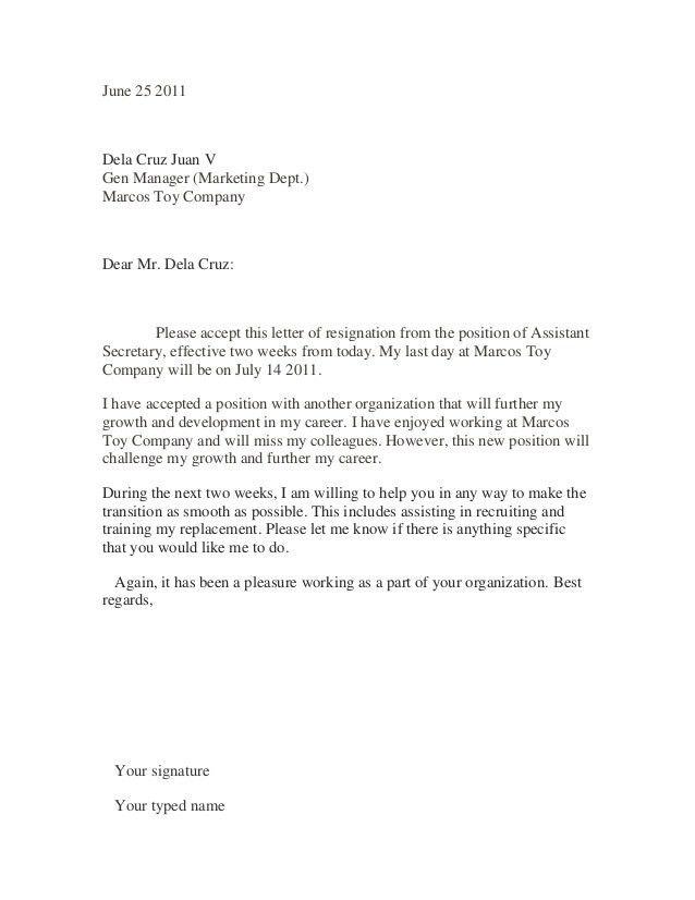 Sample Letters Of Resignation Best 25 Resignation Letter Ideas On - letters of resignation sample