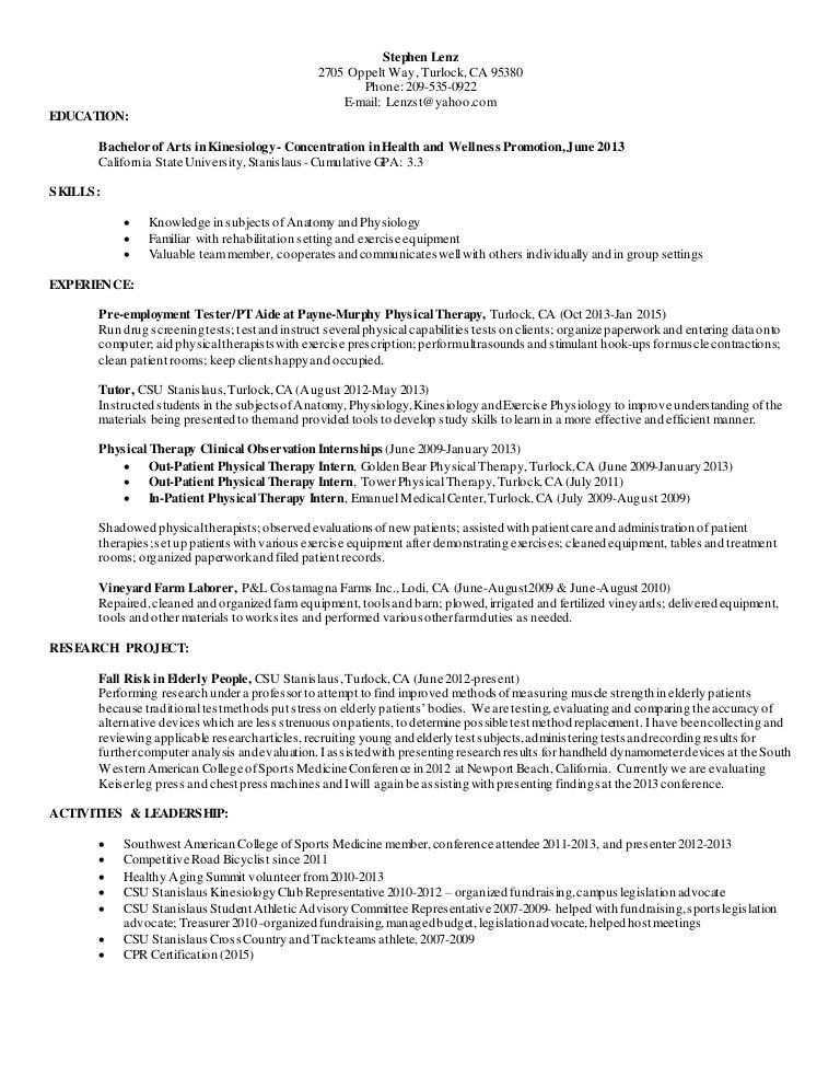 patient advocate resume different types of resume formats