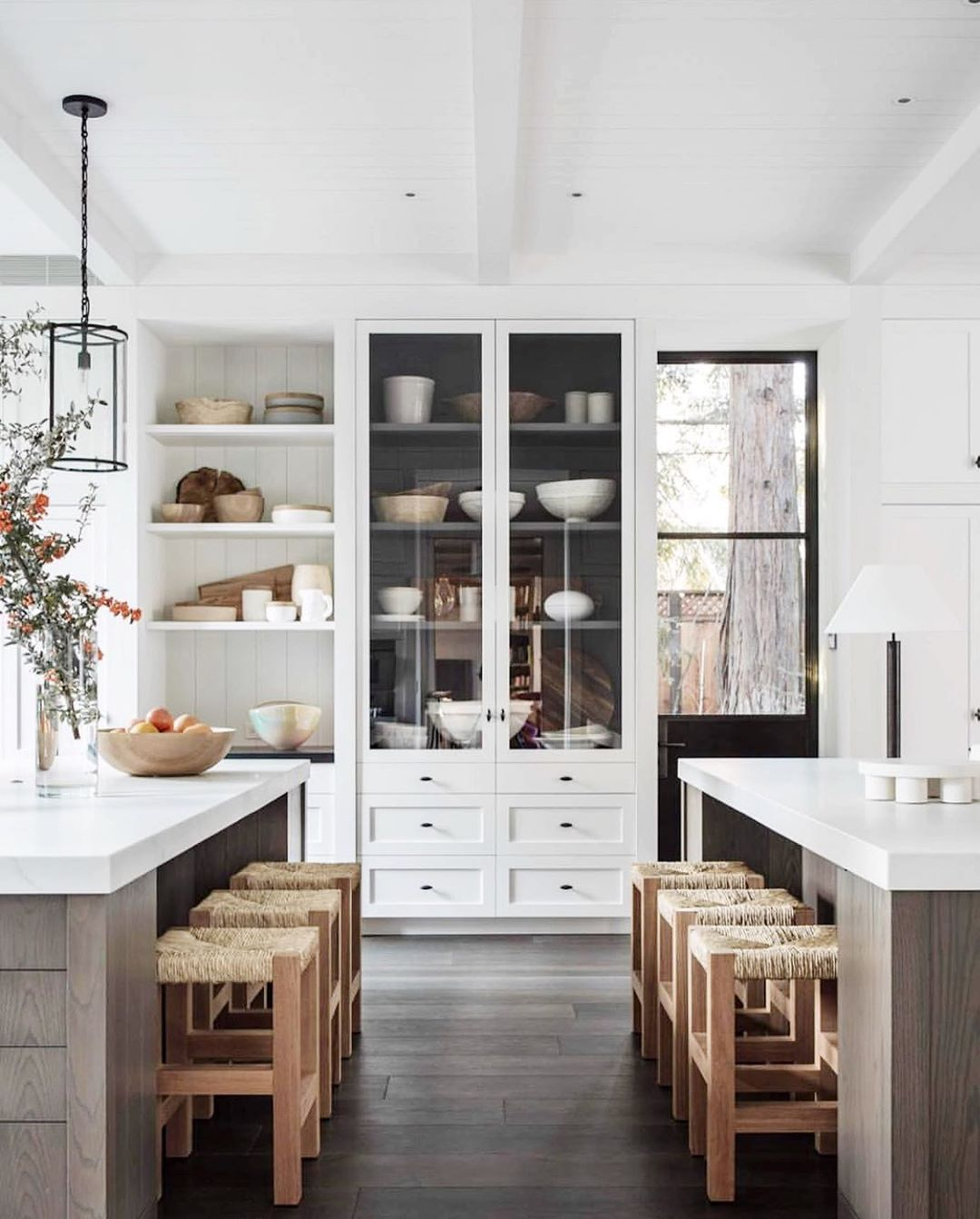 "Leclair Decor on Instagram: ""A little late night inspiration share to cap off this wild day! We're diggin' this incredible kitchen by @m.elle.design and Backen Gillum…"""