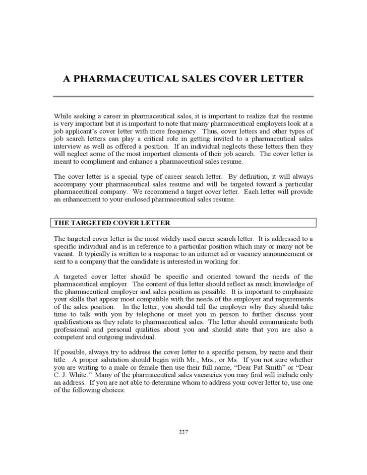 Targeted Cover Letter Examples New Samples Letters For Resumes