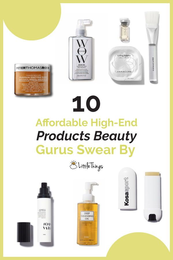 10 Affordable High-End Products Beauty Gurus Swear By: With so many affordable beauty products on the market, it can be difficult to sift through the junk to find the good stuff. Check this useful guide to buying the most affordable high-end beauty products coveted by makeup mavens. #beautyproducts #skincare #skincareproducts #skinconcern #lipcare