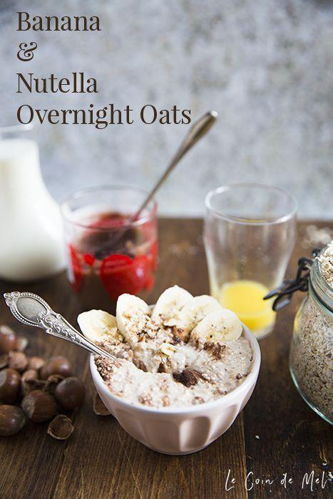 Banana & Nutella Overnight Oats