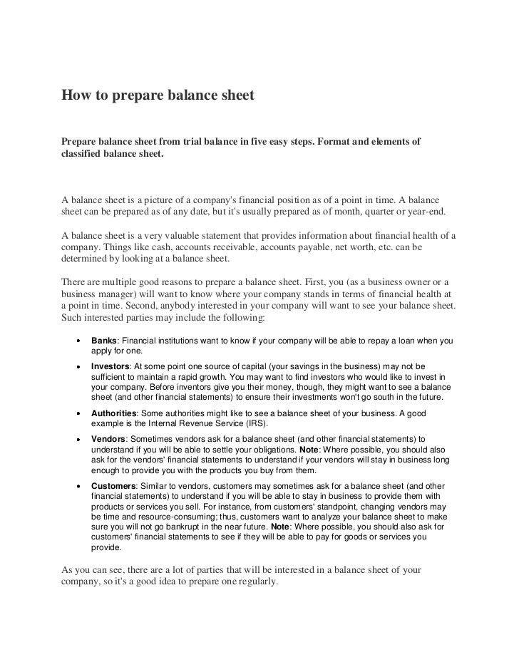 end of year balance sheet template