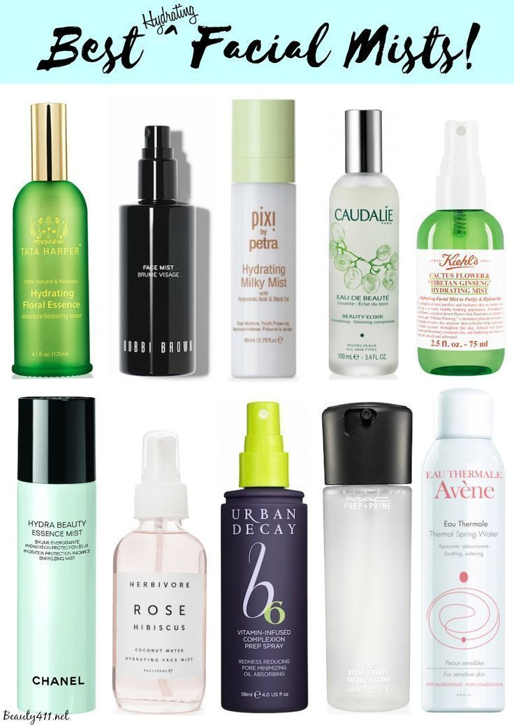 Best Hydrating Facial Mists…keep one in your gym bag…so refreshing after a workout!