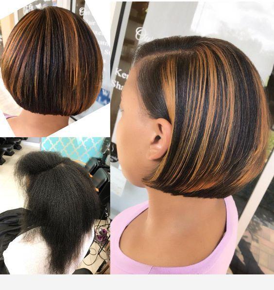 Short hair design model