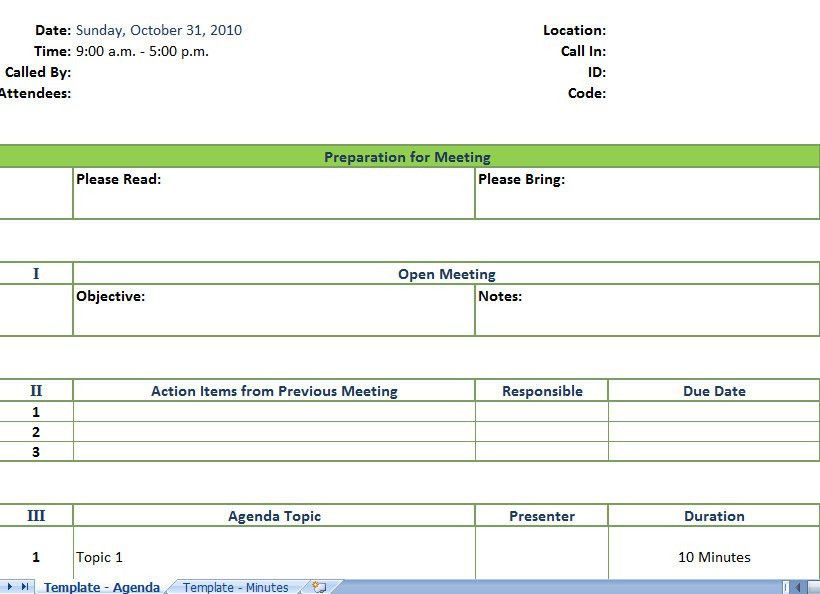 Free Meeting Agenda Templates Meeting Agenda Template 46 Free - sample meeting agenda 2