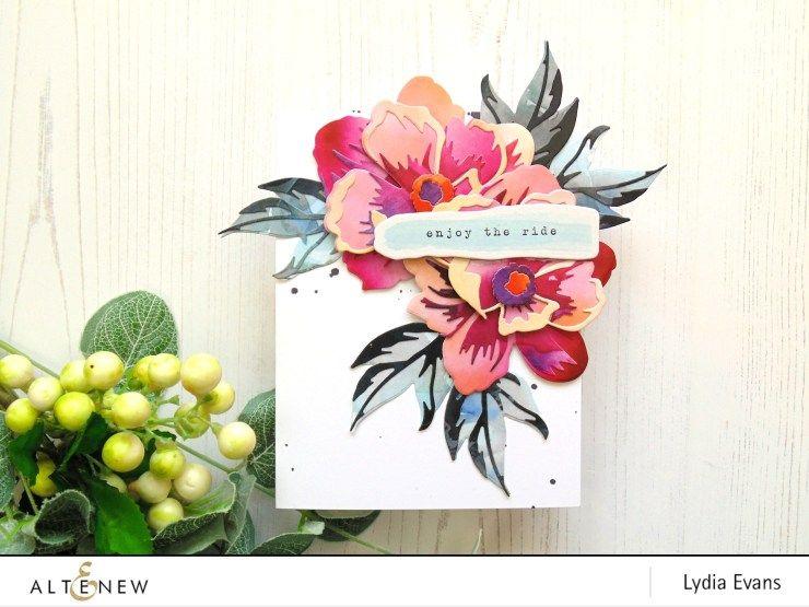 Lydia Evans - Altenew Live Your Dream Scrapbook Collection Release Blog Hop