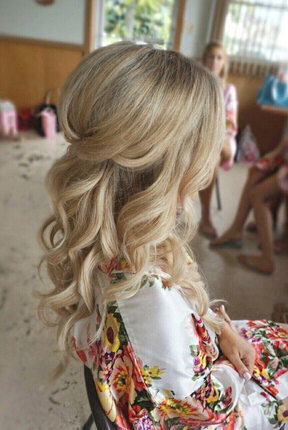 Bridesmaid Hair Young