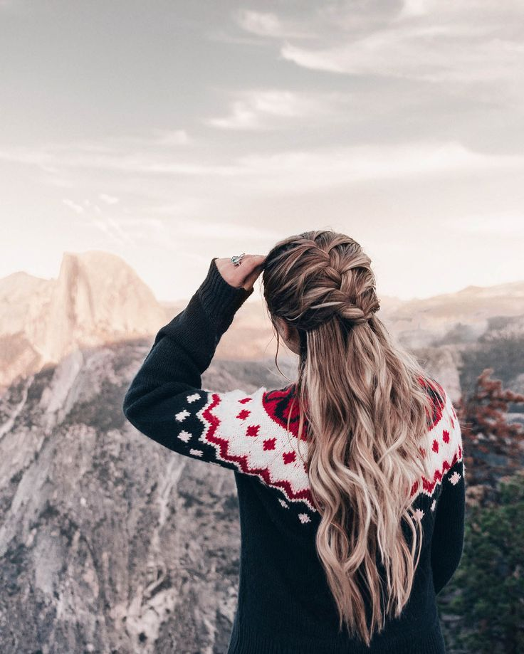 ADARAS Quick & Easy Hairstyles: Half-up French Braid