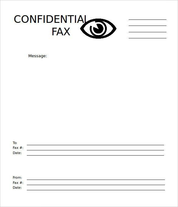 Free Fax Cover Sheets Free Fax Cover Sheet Template Printable Fax - fax cover sheet free