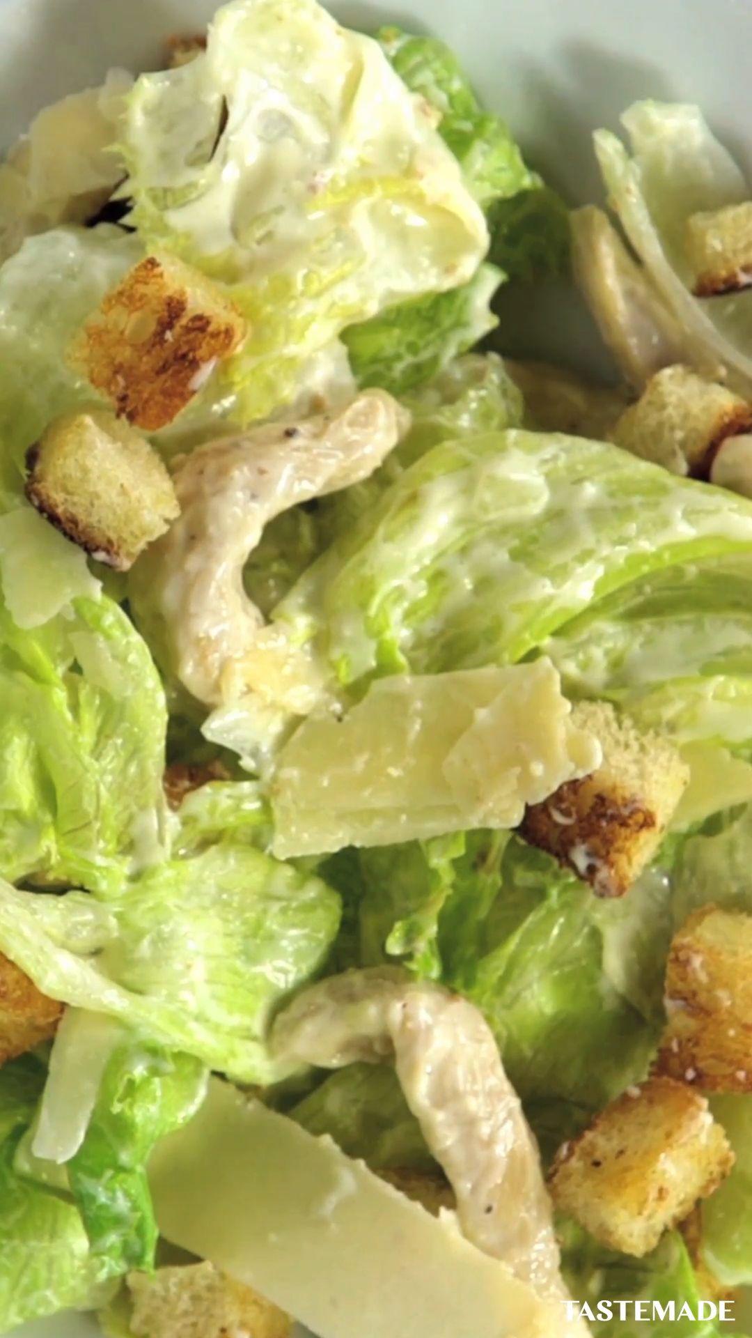 Easy Homemade Caesar Salad