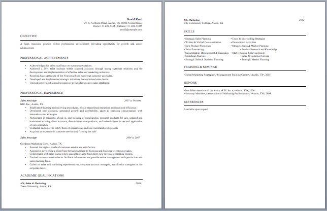 Sample Resume For Entry Level Retail Sales Associate 10 Sales - assistant manager job description resume