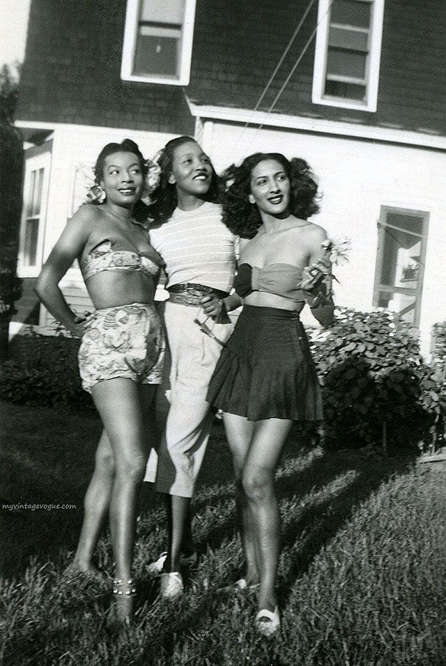 Stunning Vintage Photos Show the Beauty of African-American Women from between 1920s-40s via vintage everyday