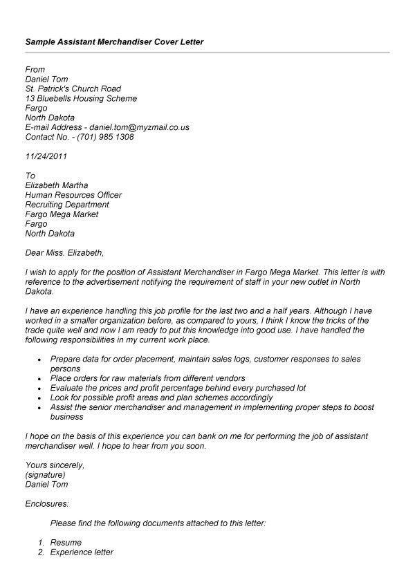 Merchandising Assistant Sample Resume] Assistant ...