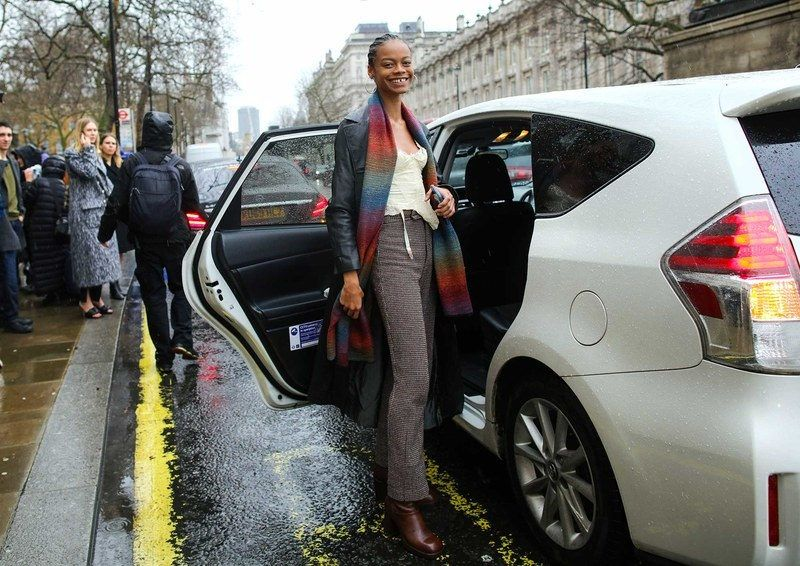 Best London Fashion Week Street Style: Aaliyah Hydes