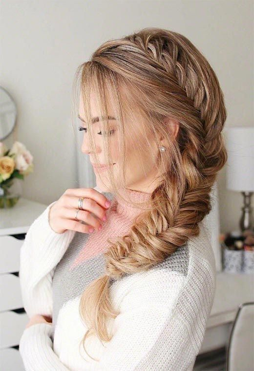 "Long Hair Braids: Braided Hairstyles for Long Hair: Side Fishtail Braid <a class=""pintag"" href=""/explore/Braidedhairstyles/"" title=""#Braidedhairstyles explore Pinterest"">#Braidedhairstyles</a><p><a href=""http://www.homeinteriordesign.org/2018/02/short-guide-to-interior-decoration.html"">Short guide to interior decoration</a></p>"