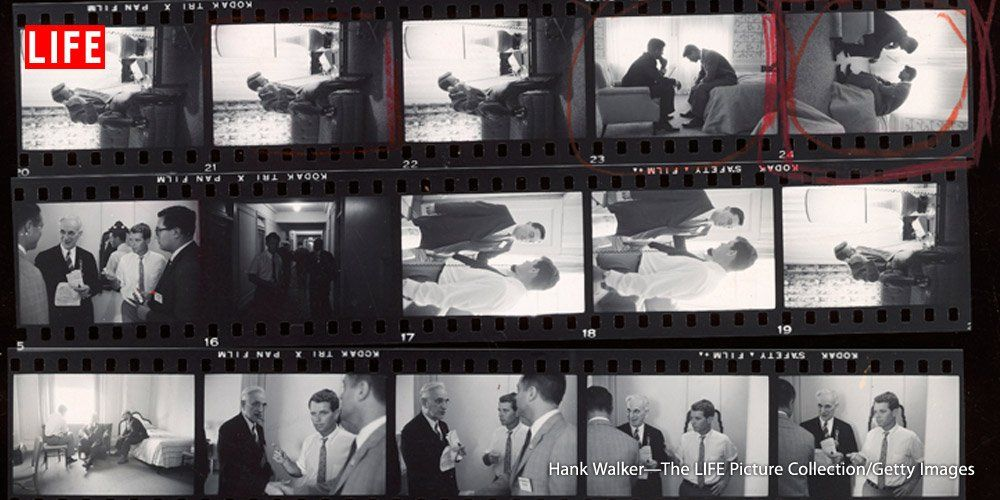 How Hank Walker captured the famous photo of JFK and RFK in 1960