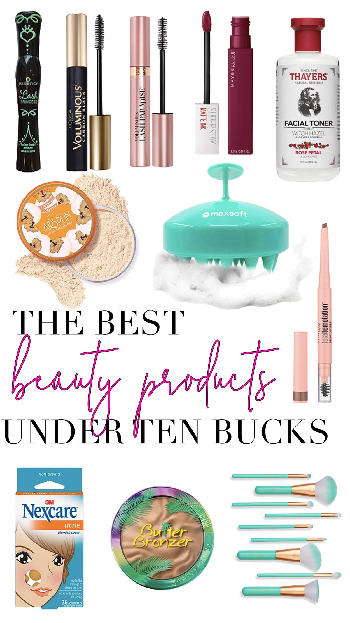 Check out these must have beauty products all for under $20!