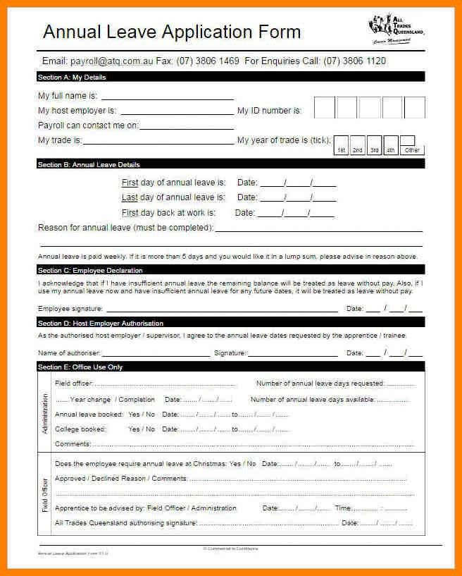 ... Leave Applications For Office Maternity Leave Application Format   Leave  Application Form For Office ...  Leave Applications For Office