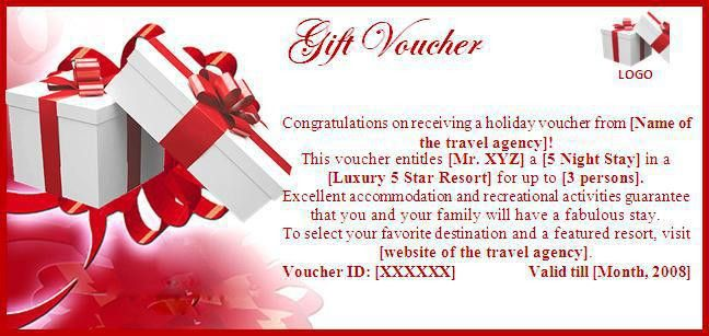 Travel Certificate Template Blank Travel Voucher Template, 36 - food voucher template