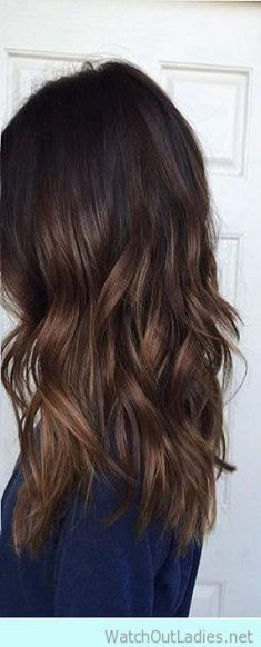 47+ Ideas Hair Ombre Dark Brown Colour #hair