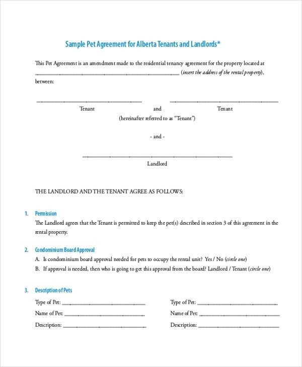 Sample Tenancy Agreement Doc Tenancy Agreement Template 8 Free - agreement form doc