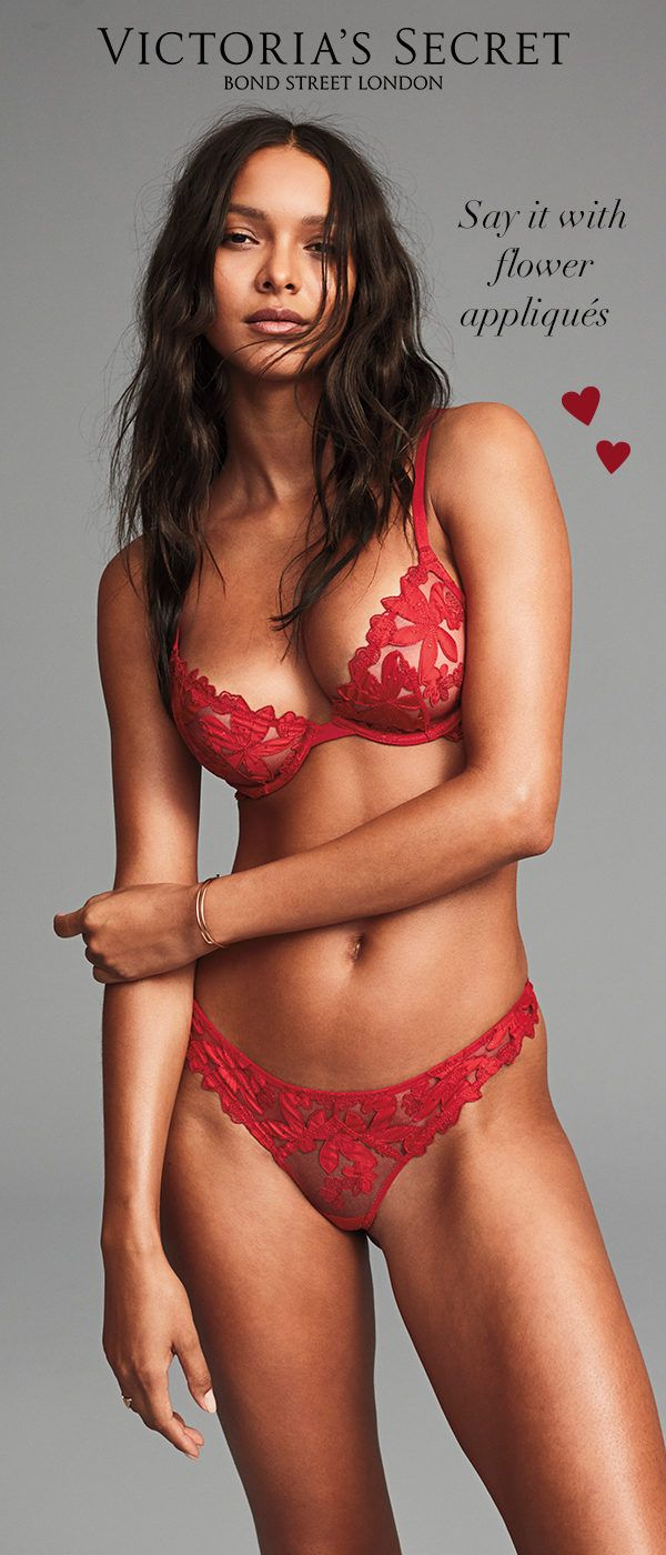 Embroidered Bra & Panty Set | Victoria's Secret