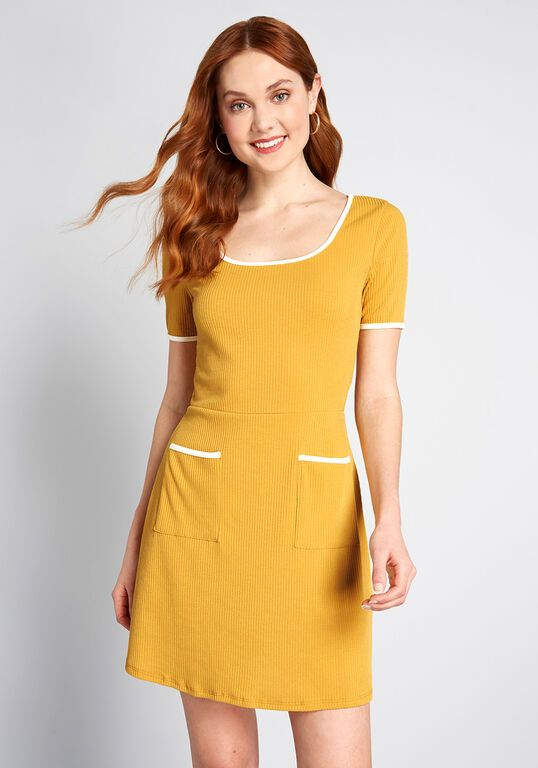 Liked and Lovely A-Line Dress