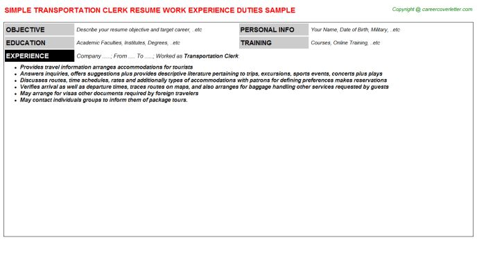 Census Clerk Sample Resume Census Clerk Sample Resume