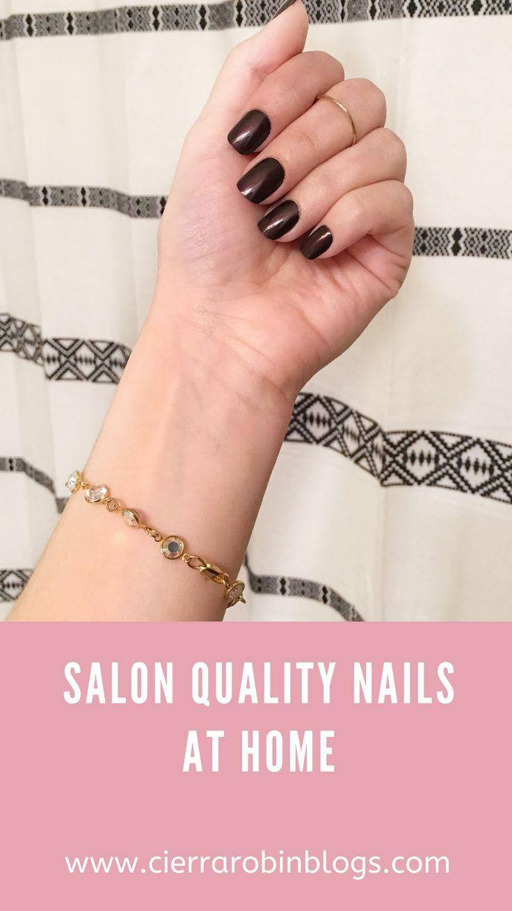 Easy salon quality nails at home! Less than $20! #fakenails #nails #diynails #nailart #nails