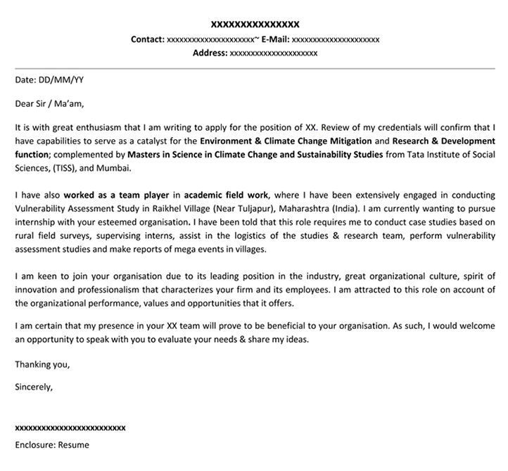 Mwd Trainee Cover Letter Cvresumeunicloudpl