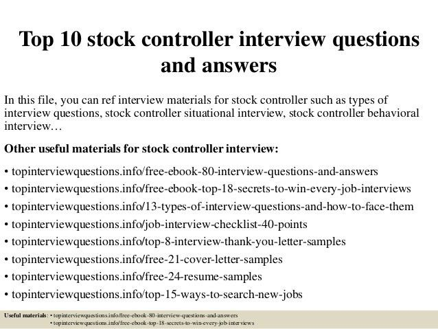 stock controller cover letter | node2004-resume-template ...
