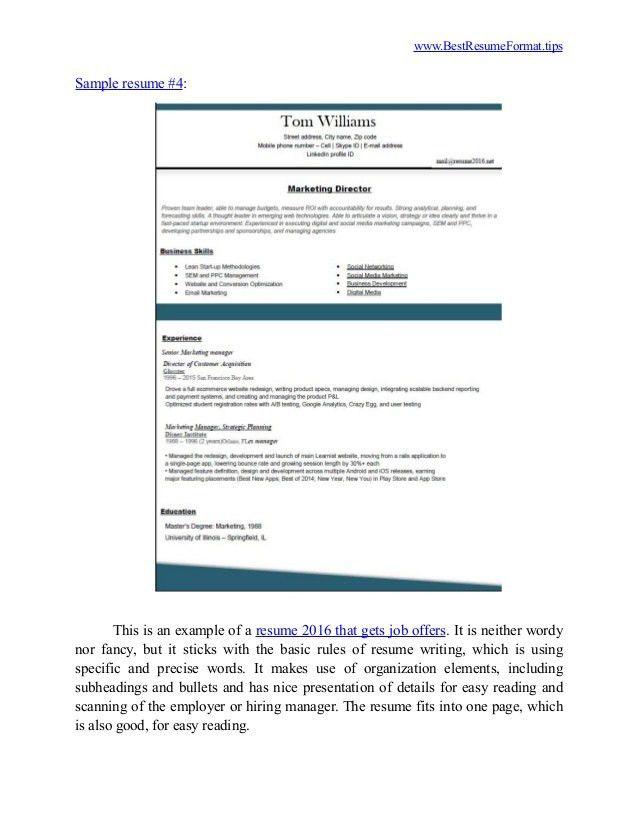 most common resume format node5312 cvresumehigh speedcloud