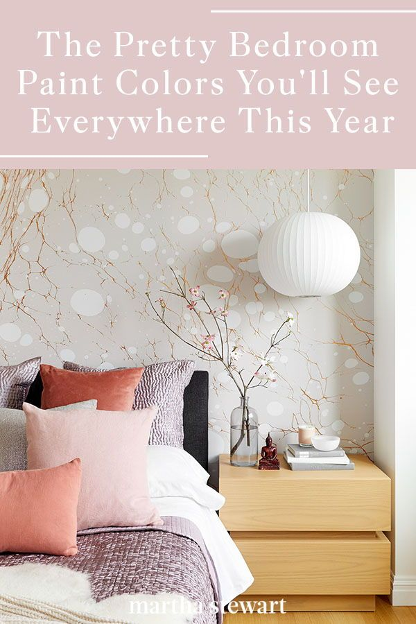 The Bedroom Paint Colors You'll See Everywhere in 2020