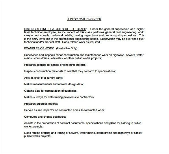 Construction Manager Job Description Job Description Leader