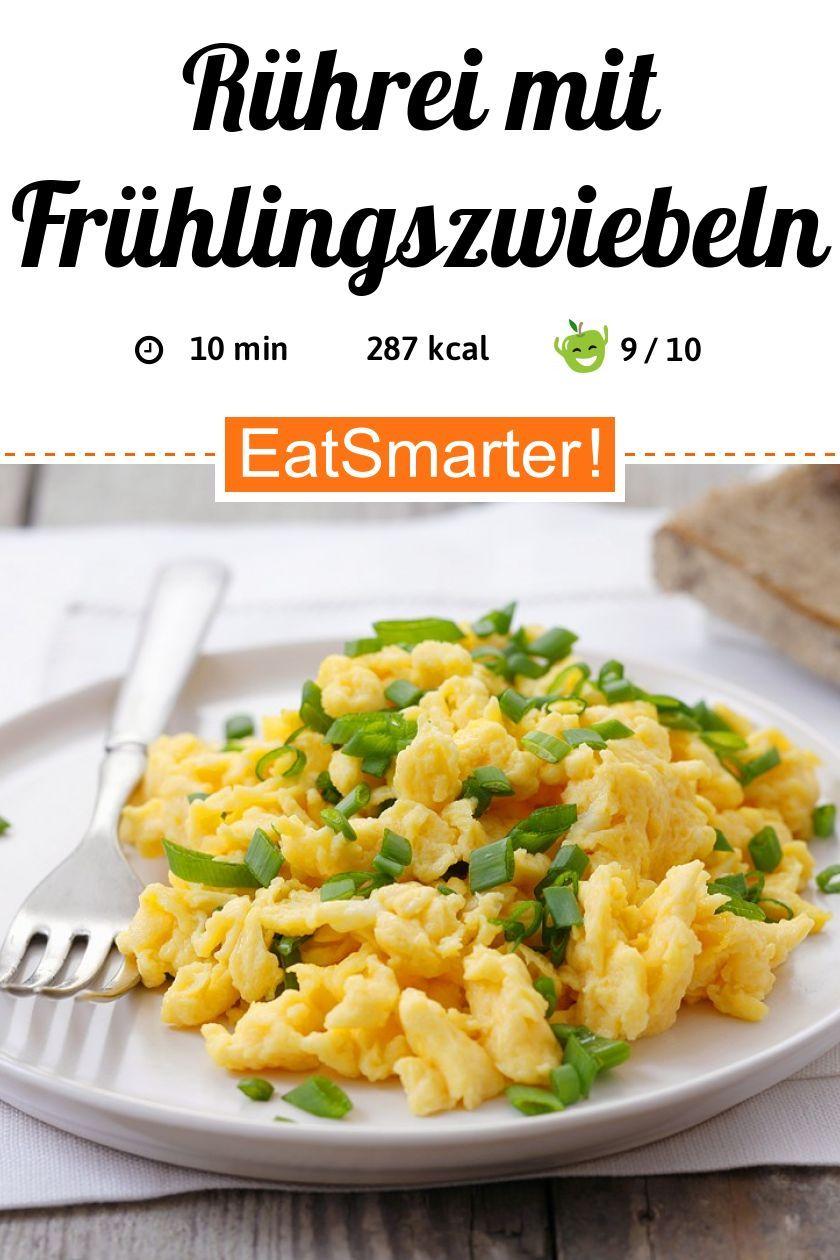 Rührei mit Frühlingszwiebeln - smarter - Kalorien: 287 kcal - Zeit: 10 Min. | eatsmarter.de