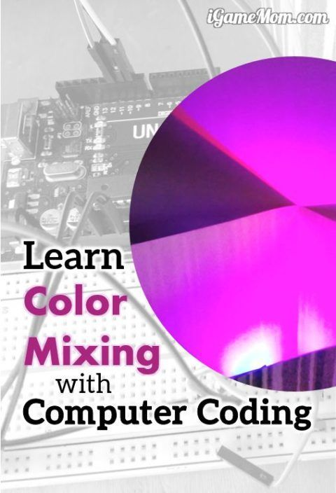 Learn Color Mixing with Computer Coding