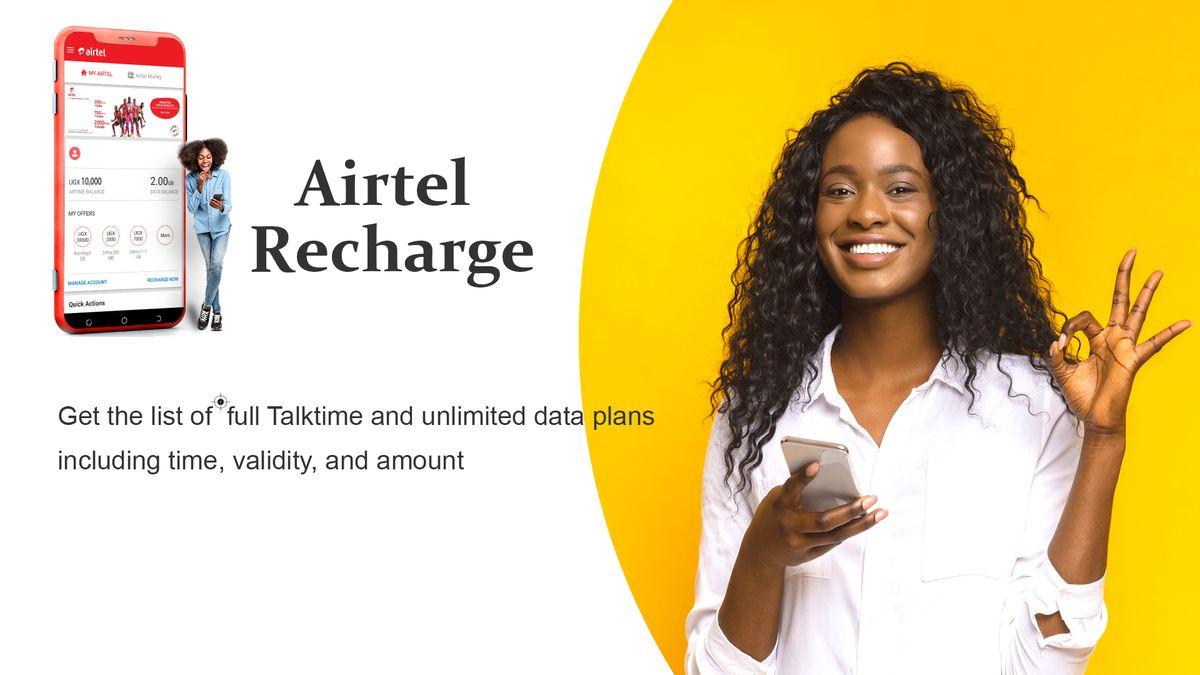online airtel recharge plan & dth