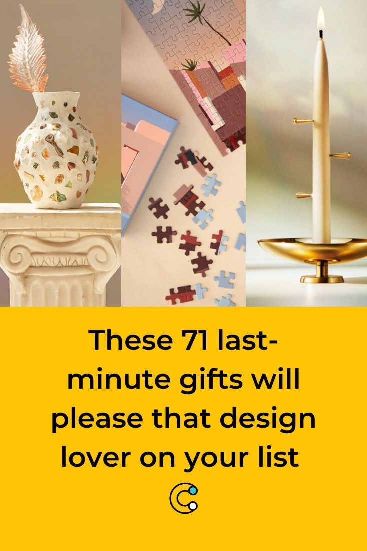 These 71 last-minute gifts will please that design lover on your list