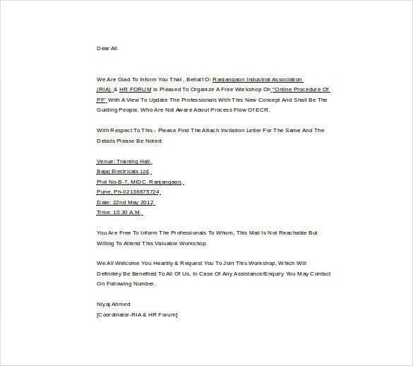 Letter of invitation pdf newsinvitation marriage invitation letter format pdf yaseen for spiritdancerdesigns Images