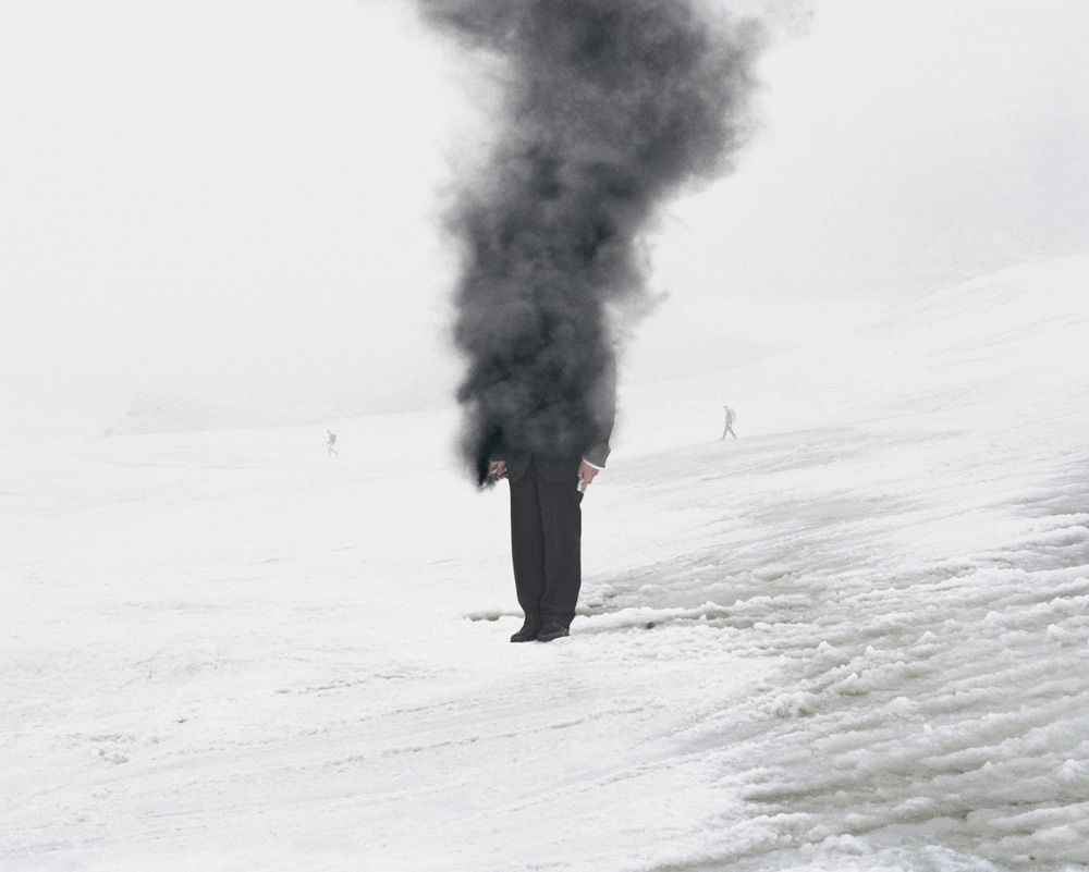 Andrea Galvani © 2007, The Intelligence of Evil #5 C-print mounted on aluminum dibond 90 x 100 cm // 35.5 x 39 inches Edition of 5 + 3 AP, Courtesy the artist