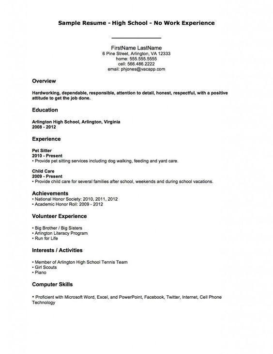 Writing My First Resume | Env 1198748 Resume.cloud .