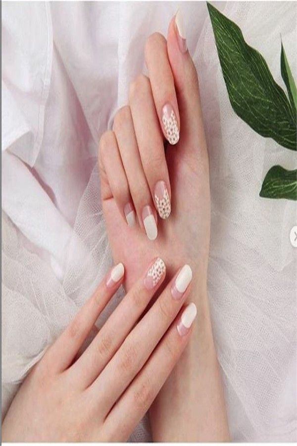 42 Cute And Elegant Wedding Nails Design Ideas 2019 – Fashonails