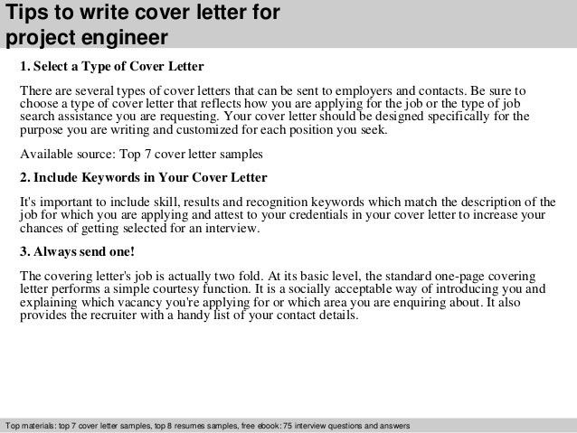 Project Engineer Cover Letter Construction Project Engineer Cover - project engineer job description
