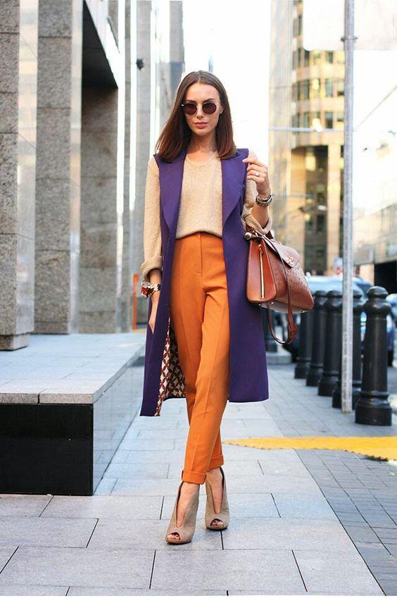 Cute purple vest design