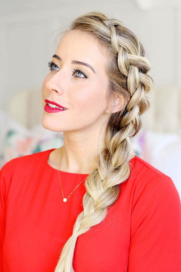 How to Dutch Braid. Tips and tricks for braiding that will give you a polished look by Twist Me Pretty #dutchbraidhowto #dutchbraidtutorial