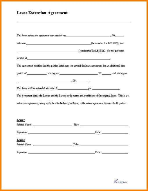 Free Simple Lease Agreement Template Free Lease Rental Agreement - blank lease agreement example