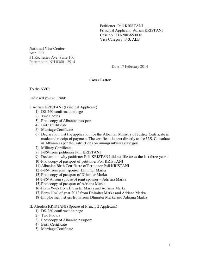 Curtain wall estimator cover letter